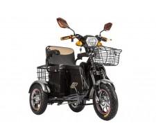 Электробайк Трицикл S1 V2 с большой корзиной