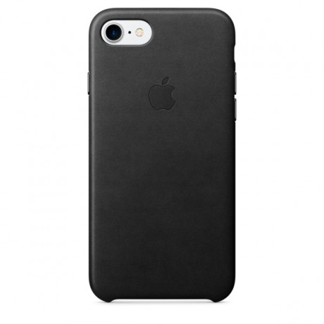 Чехол для iPhone Apple iPhone 7/8 Leather Case Black (MMY52ZM/A)