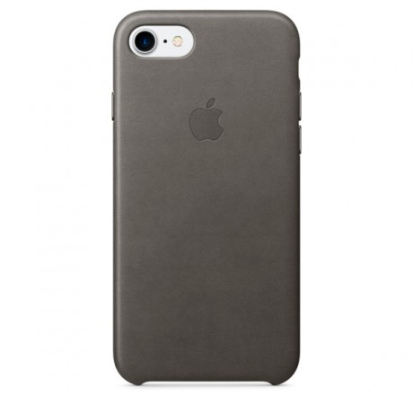 Чехол для iPhone Apple iPhone 7/8 Leather Case Storm Gray (MMY12ZM/A)