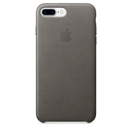 Чехол для iPhone Apple iPhone 7/8 Plus Leather Case Storm Gray (MMYE2ZM/A)
