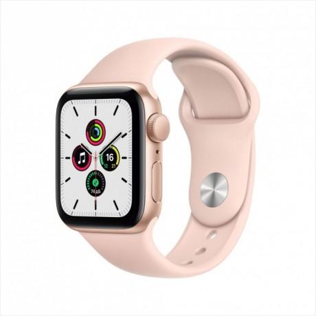 Смарт-часы Apple Watch SE, 40 мм, корпус из алюминия золотого цвета, спортивный ремешок