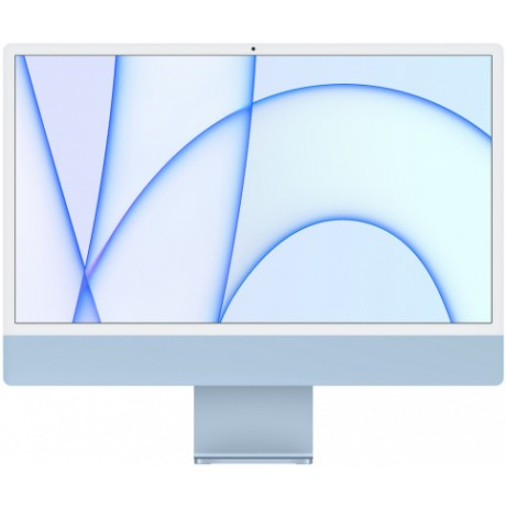 "Apple iMac 24"" Retina 4,5K, M1 (7-core GPU), 8 ГБ, 256 ГБ (синий)"