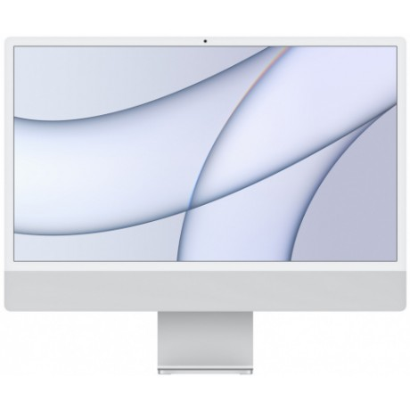 "Apple iMac 24"" Retina 4,5K, M1 (8-core GPU), 8 ГБ, 512 ГБ (серебристый)"