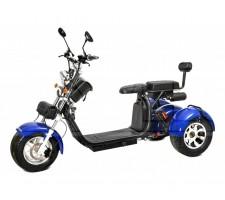 Трицикл Citycoco 2000W 2акб 60V20ah 12 дюймов колеса