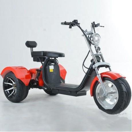 Трицикл EL-MONKEY (Красный) 2000W 60V20Ah(Li-ion)