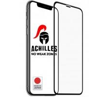 Защитное стекло для iPhone X Premium 5D ACHILLES, Черное