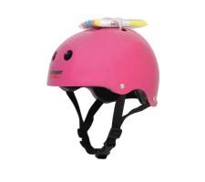 Шлем защитный с фломастерами Wipeout Neon Pink (L 8+)