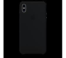 Силиконовый чехол для Apple iPhone X Silicone Case (черный)