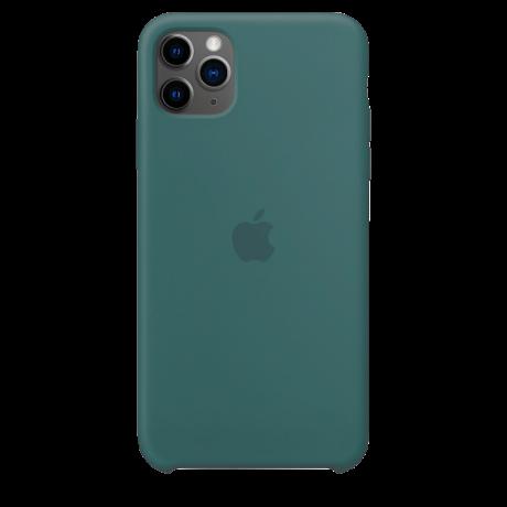 Силиконовый чехол для Apple iPhone 11 Pro Max Silicone Case (кактус)