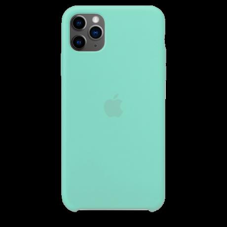 Силиконовый чехол для Apple iPhone 11 Pro Max Silicone Case (морская пена)