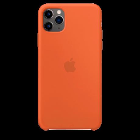 Силиконовый чехол для Apple iPhone 11 Pro Max Silicone Case (витамин C)