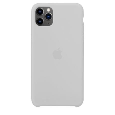 Силиконовый чехол для Apple iPhone 11 Pro Max Silicone Case (белый)