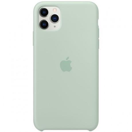 Силиконовый чехол для Apple iPhone 11 Pro Silicone Case (берилл)