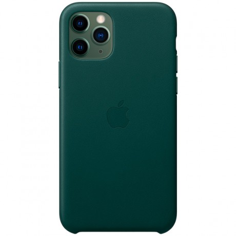 Силиконовый чехол для Apple iPhone 11 Pro Silicone Case (зеленая сосна)