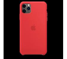 Силиконовый чехол для Apple iPhone 11 Pro Silicone Case (красный)