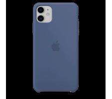 Силиконовый чехол для Apple iPhone 11 Silicone Case (голубая Аляска)
