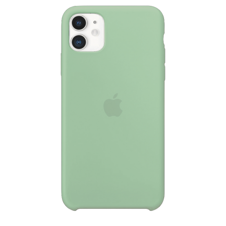 Силиконовый чехол для Apple iPhone 11 Silicone Case (берилл)