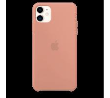 Силиконовый чехол для Apple iPhone 11 Silicone Case (грейпфрут)