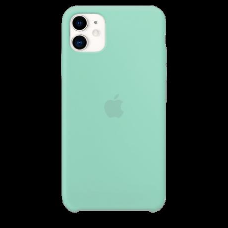 Силиконовый чехол для Apple iPhone 11 Silicone Case (морская пена)