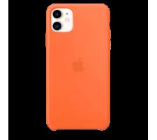 Силиконовый чехол для Apple iPhone 11 Silicone Case (витамин C)
