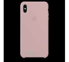 Силиконовый чехол для Apple iPhone X/XS Silicone Case Simple (лавандовый)