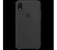 Силиконовый чехол для Apple iPhone XR Silicone Case (черный)