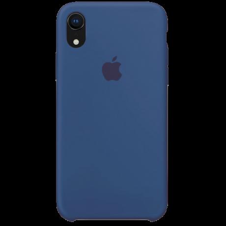 Силиконовый чехол для Apple iPhone XR Silicone Case (голубой горизонт)