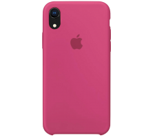 Силиконовый чехол для Apple iPhone XR Silicone Case (драконий фрукт)