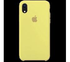Силиконовый чехол для Apple iPhone XR Silicone Case (сочный желтый)