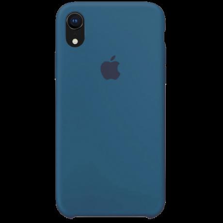 Силиконовый чехол для Apple iPhone XR Silicone Case (мягкий зеленый)