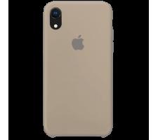 Силиконовый чехол для Apple iPhone XR Silicone Case (камень)