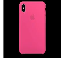 Силиконовый чехол для Apple iPhone XS Silicone Case (драконий фрукт)