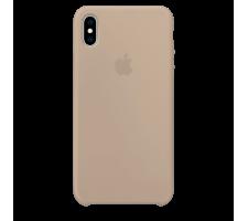 Силиконовый чехол для Apple iPhone XS Silicone Case (камень)